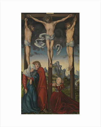 Christ on the Cross between the Two Thieves, ca 1515-1520 by Anonymous