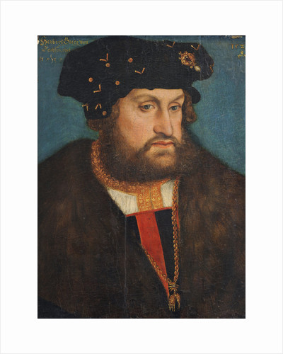 George the Bearded, Duke of Saxony, 1524 by Anonymous