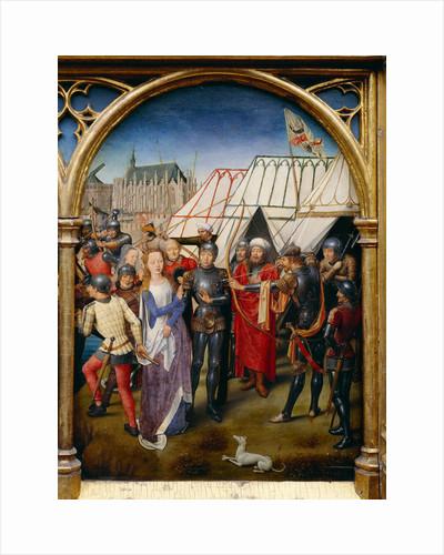 Saint Ursula Shrine: The Martyrdom of Saint Ursula, 1489 by Anonymous