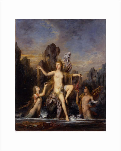 Venus Rising from the Sea (Venus Anadyomene), 1866 by Anonymous