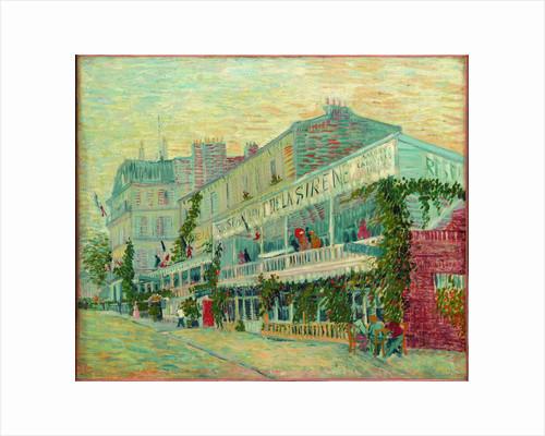 Le Restaurant de la Sirène à Asnières, 1887 by Anonymous