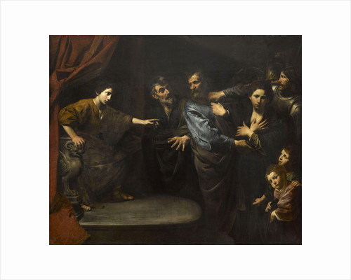 The innocence of Susanna or The judgement of Daniel, 1621-1622 by Anonymous