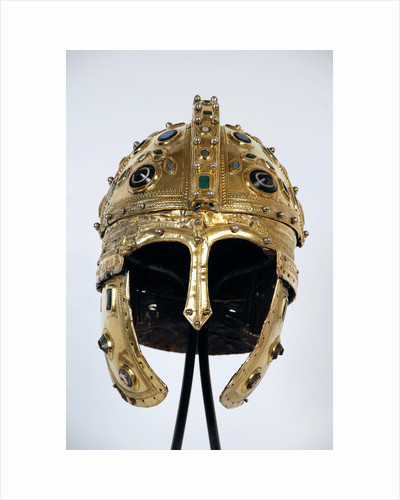 Late Roman ridge helmet, 4th century by Anonymous