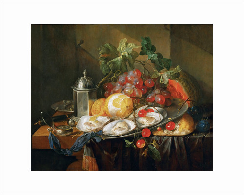 Breakfast still life, 1660-1670 by Anonymous