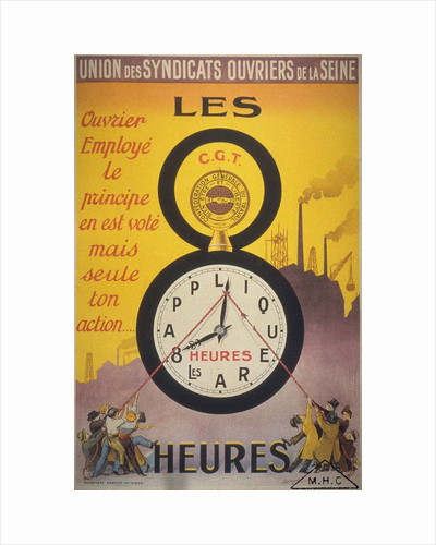 Eight-hour day, 1919 by Anonymous