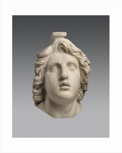 Head of Achilles (Roman copy from a Greek Original), ca 160 BC by Anonymous