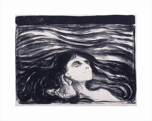 Lovers in the Waves (Elskende par i bolger), 1896 by Anonymous
