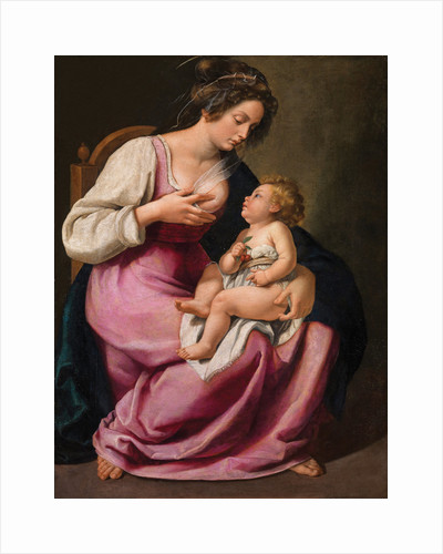 Madonna and Child, 1609-1610 by Anonymous