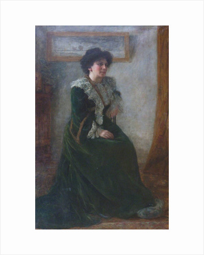 Portrait of Hertha Ayrton, née Sarah Marks, c. 1903-1906 by Anonymous