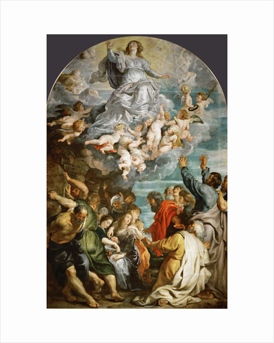 The Assumption of the Blessed Virgin Mary, ca 1611 by Anonymous