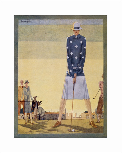 Ladies Golf Outfit by Jane Regny, pub. 1926 by Anonymous