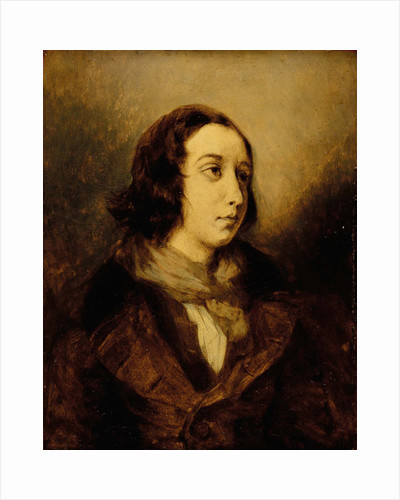 George Sand dressed as a man, 1834 by Anonymous