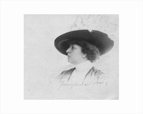 Nadezhda Petrovna Lamanova, 1911 by Anonymous