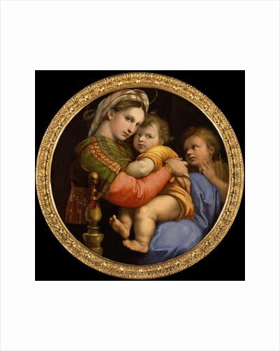 Madonna della Seggiola, 1513-1514 by Anonymous
