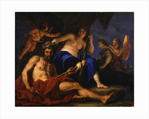 Hercules and Omphale, 1701 by Anonymous