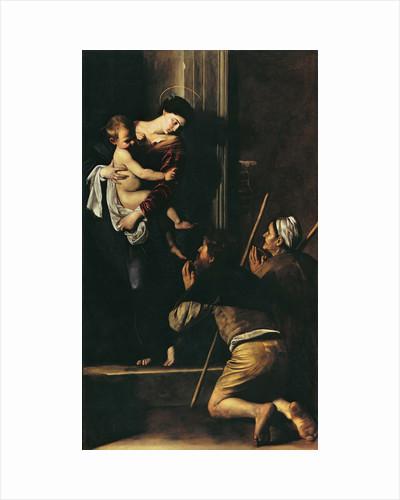 The Madonna dei Pellegrini (Pilgrims Madonna), 1604-1606 by Anonymous