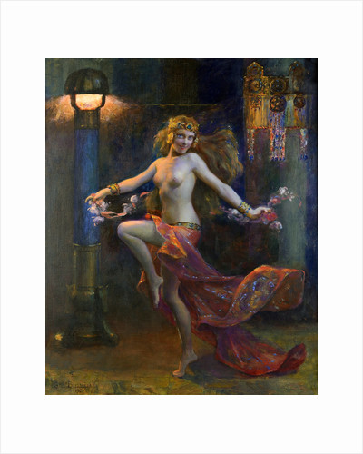 An exotic dancer, 1926 by Anonymous