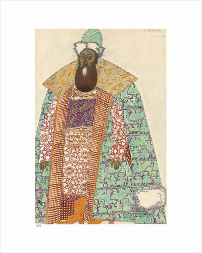 Boyar. Costume design for the opera Sadko by N. Rimsky-Korsakov, 1911 by Anonymous