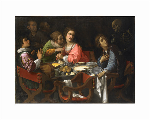 Death Comes to the Banquet Table (Memento Mori), Between 1625 and 1638 by Anonymous
