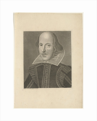 Portrait of William Shakespeare, ca 1625 by Anonymous