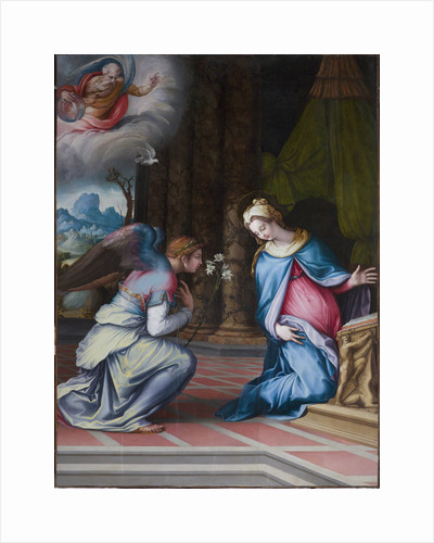 The Annunciation, ca 1534 by Anonymous
