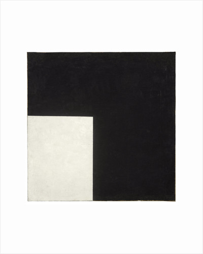 Black and White. Suprematist Composition, 1915 by Anonymous