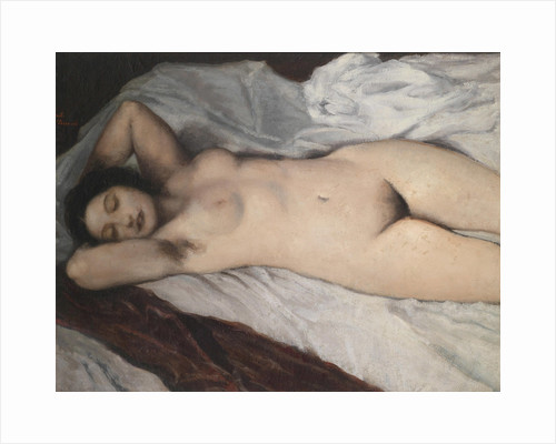 Nude lying , 1930 by Anonymous
