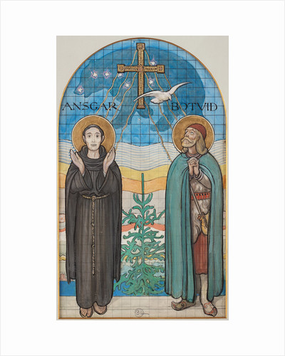 Saint Ansgar and Saint Botvid by Anonymous