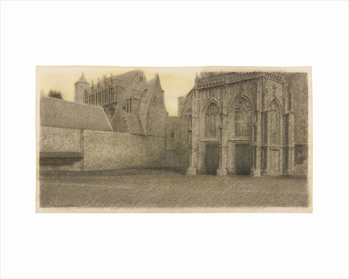 A Bruges. Un Portail, ca 1904 by Anonymous
