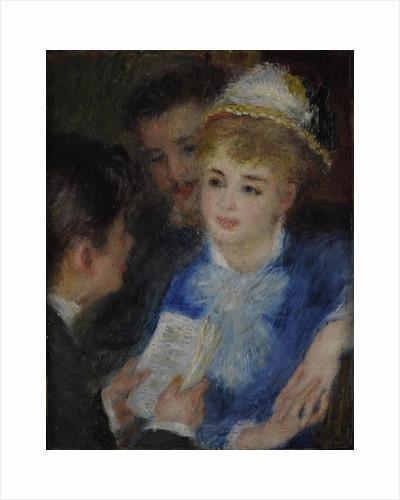 La Lecture du rôle (Play reading), 1876-1877 by Anonymous