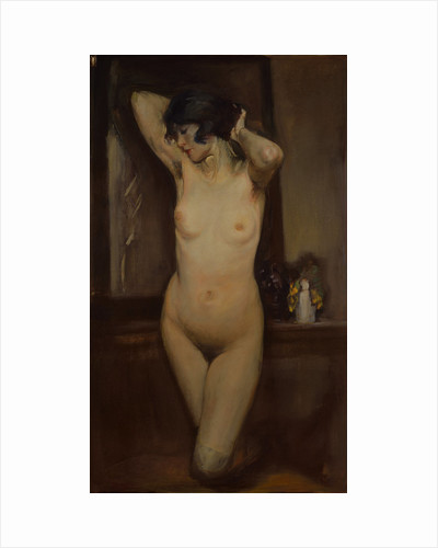 A nude, c. 1922 by Anonymous