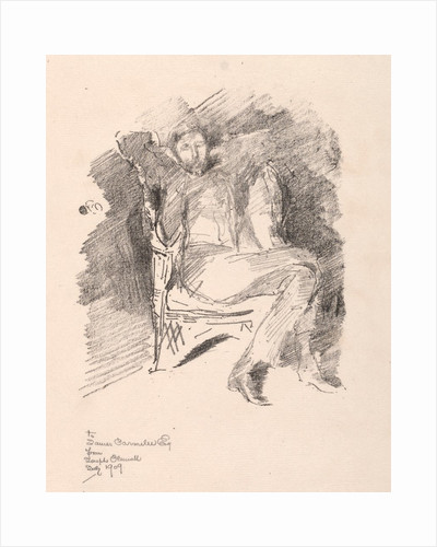 Joseph Pennell, No. 2, 1896 by James McNeill Whistler