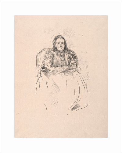 Portrait Study - Mrs. Phillip, 1896 by James McNeill Whistler