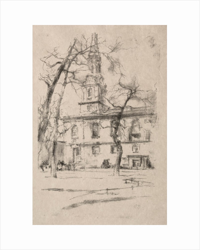 St. Giles-in-the-Fields, 1896 by James McNeill Whistler
