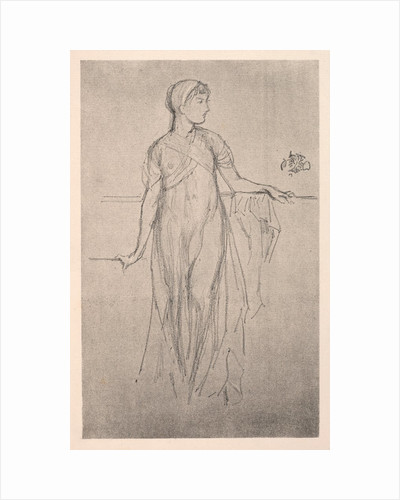 Study, 1879 by James McNeill Whistler