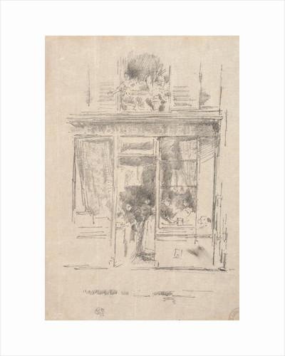 The Laundress - La Blanchisseuse de la Place Dauphine, 1894 by James McNeill Whistler