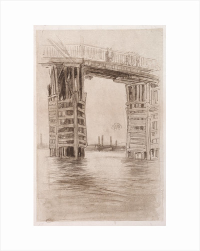 The Tall Bridge by James McNeill Whistler