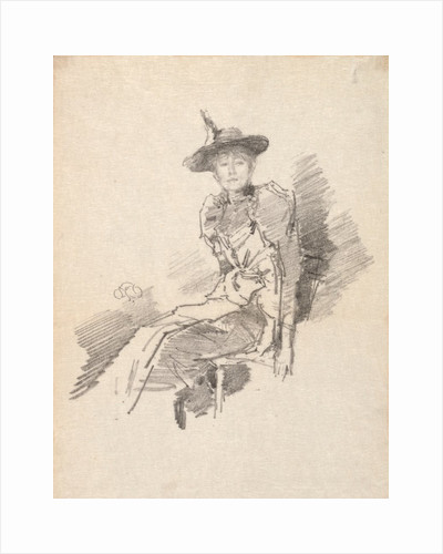The Winged Hat, 1890 by James McNeill Whistler