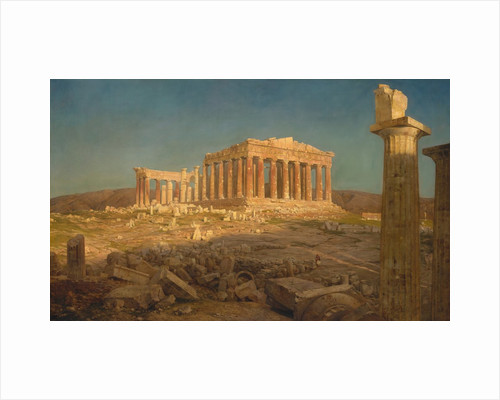 The Parthenon, 1871 by Frederic Edwin Church