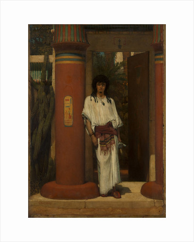 An Egyptian in a Doorway, 1865 by Sir Lawrence Alma-Tadema