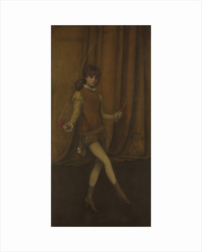 Harmony in Yellow and Gold: The Gold Girl?Connie Gilchrist, ca. 1876-77 by James Abbott McNeill Whistler