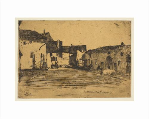 Liverdun, 1858 by James Abbott McNeill Whistler