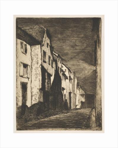 Street at Saverne, 1858 by James Abbott McNeill Whistler