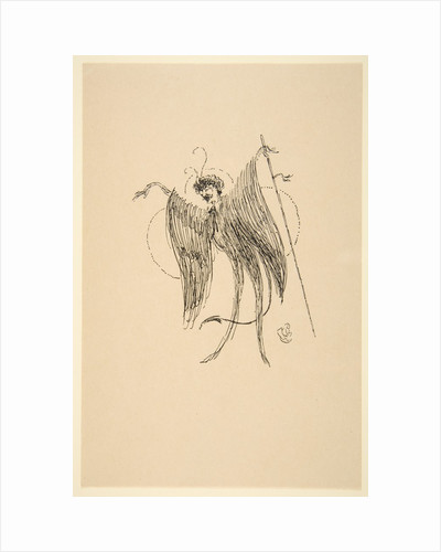 Whistler as Butterfly, 19th-20th century by James Abbott McNeill Whistler