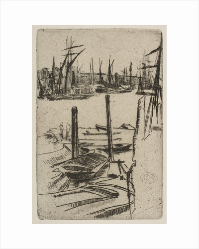 The Tiny Pool, [1879] by James Abbott McNeill Whistler