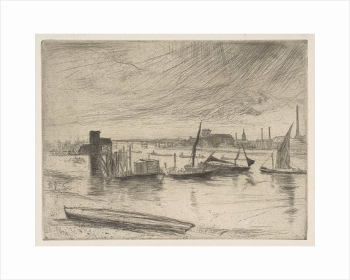 Early Morning, Battersea, 1861 by James Abbott McNeill Whistler