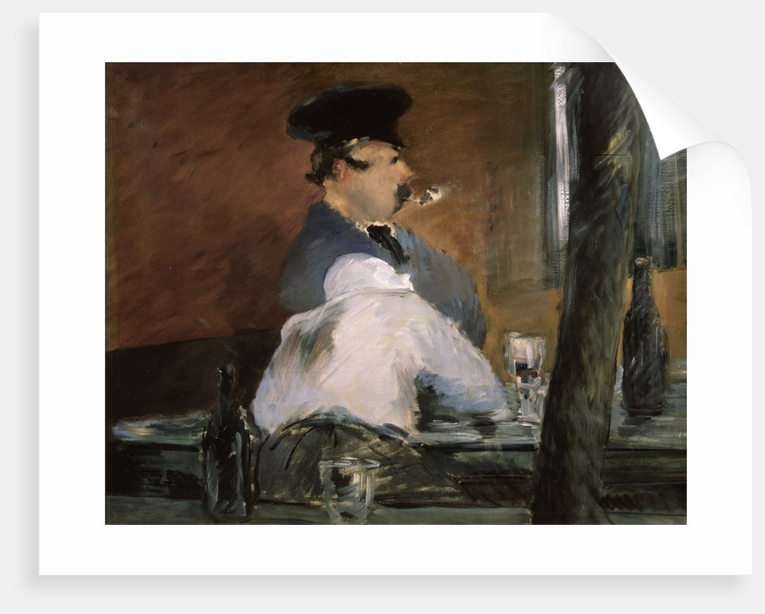 The Bar (Le Bouchon) by Edouard Manet