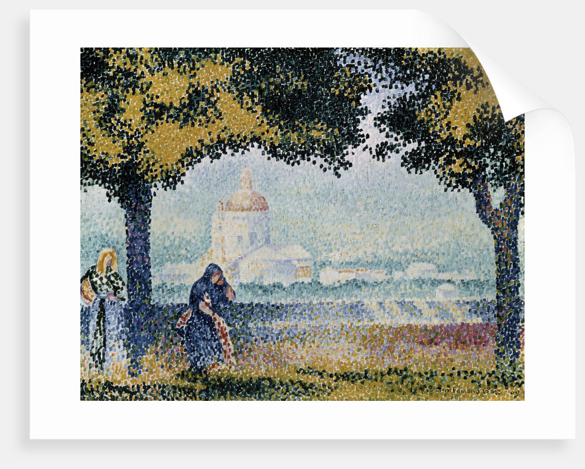 The Church of Santa Maria degli Angeli near Assisi by Henri Edmond Cross