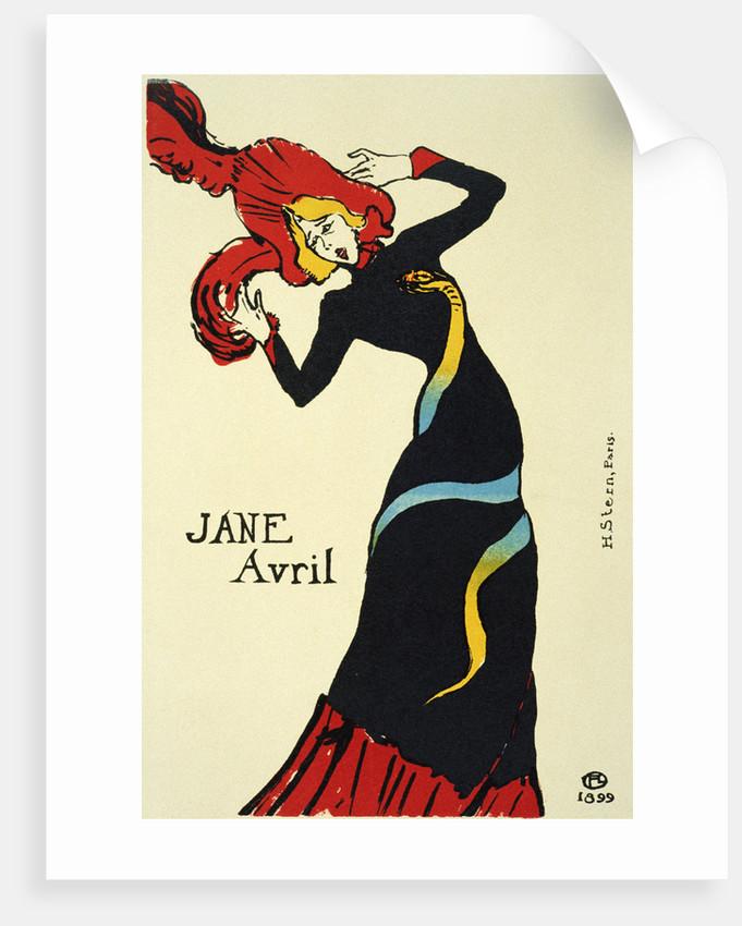 Fine Art Print Toulouse-Lautrec Drawing Jane Avril