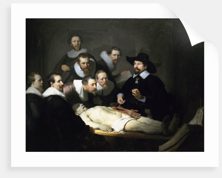 The Anatomy Lesson Of Dr Nicolaes Tulp Posters Prints By Rembrandt